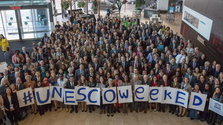 MEGA at the UNESCO Week for Peace and Sustainable Development
