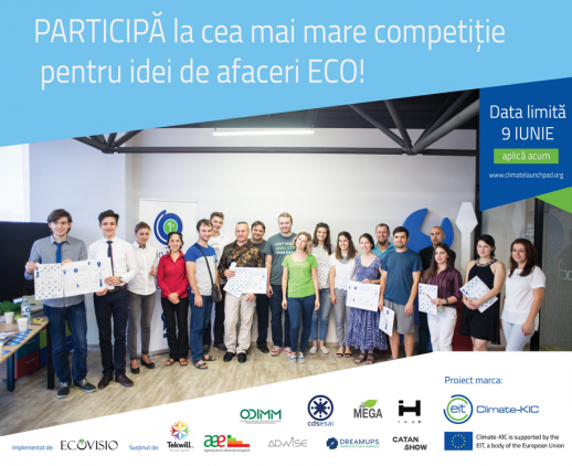 ClimateLaunchpad Moldova: Let's Talk Climate Business!