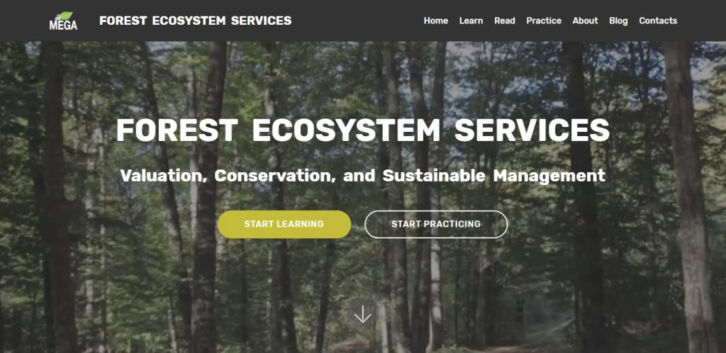 Forest Ecosystem Services e-learning website.