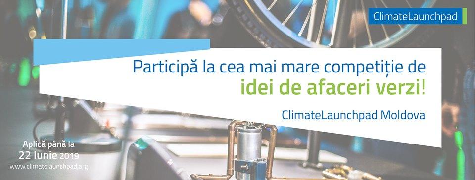 ClimateLaunchpad Moldova.